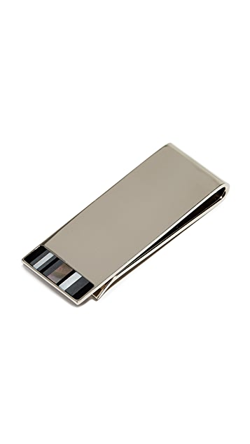 Paul Smith Mother of Pearl Money Clip