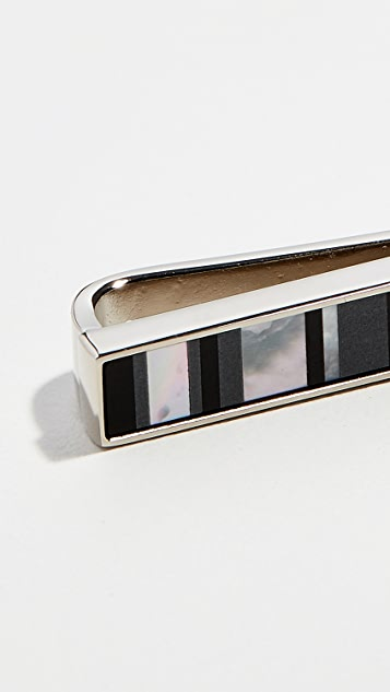 Paul Smith Mother of Pearl Tiepin