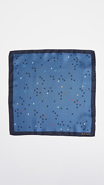 Paul Smith Artist Stars Pocket Square