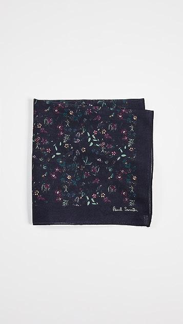 Paul Smith Explorer Floral Pocket Square