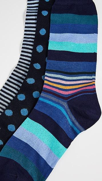 Paul Smith 3 Pack Crew Socks