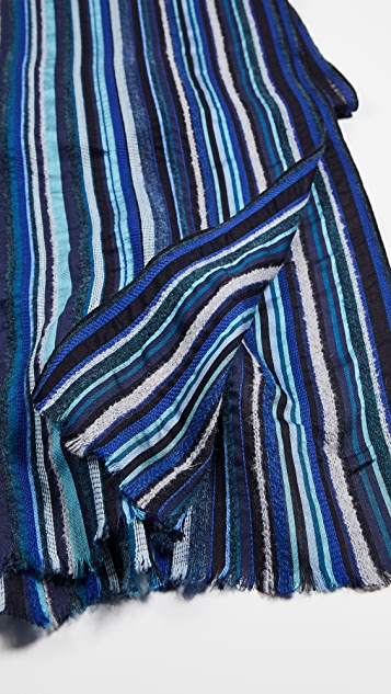 Paul Smith Multi Textured Scarf