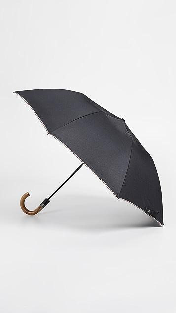 Paul Smith Multistripe Trim Crook Umbrella