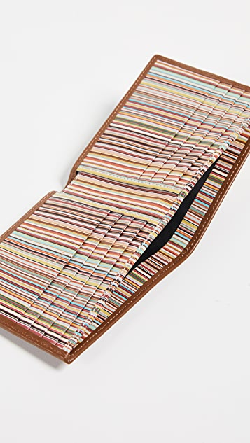 Paul Smith Interior Stripe Billfold