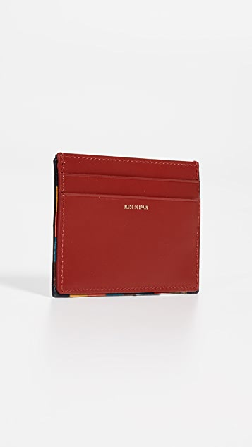 Paul Smith Striped Trim Credit Card Case