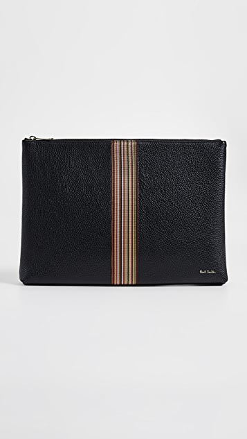 Paul Smith Striped Document Case