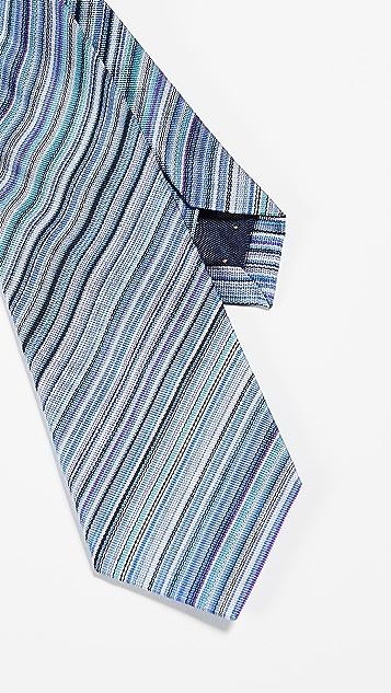 Paul Smith Narrow Multistripe Tie