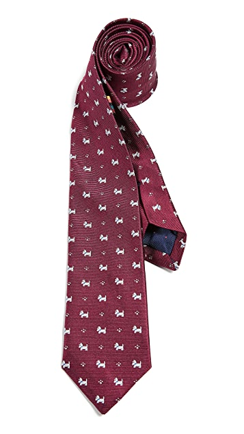 Paul Smith Narrow Dog Tie
