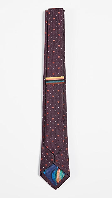Paul Smith Narrow Heart Tie
