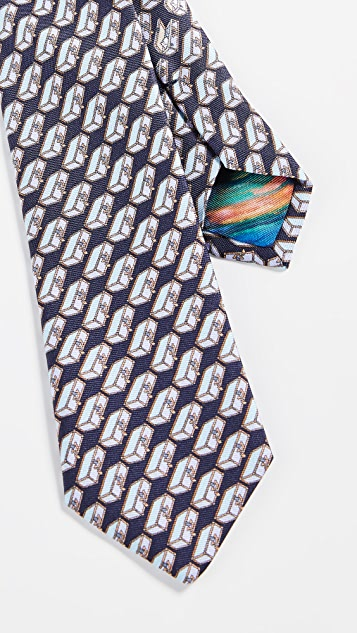 Paul Smith Narrow Suitcases Tie