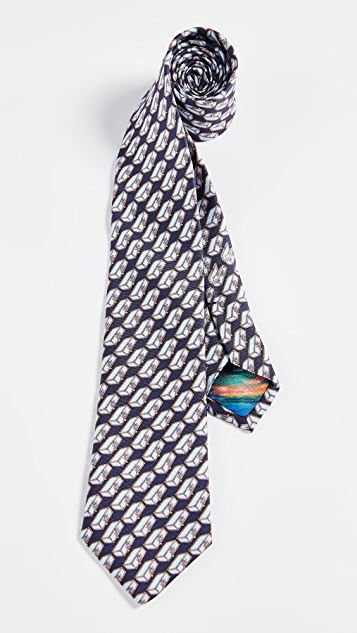 Paul Smith Narrow Suitcases Tie