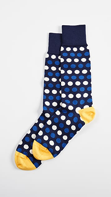 Paul Smith Dot Stripe Socks