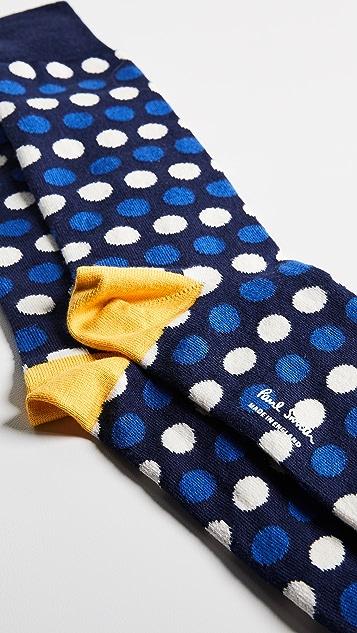 Paul Smith Dot Stripe Socks