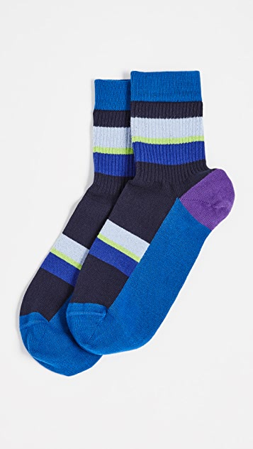 Paul Smith Short Ribbed Socks