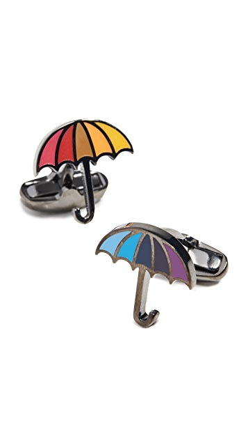 Paul Smith Enamel Umbrella Cufflinks