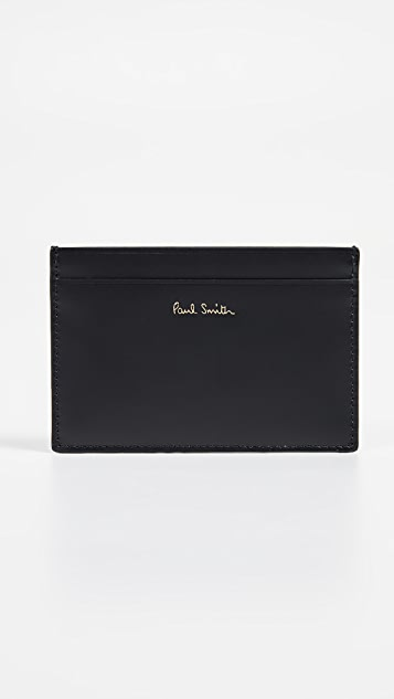 Paul Smith Map Print Credit Card Case
