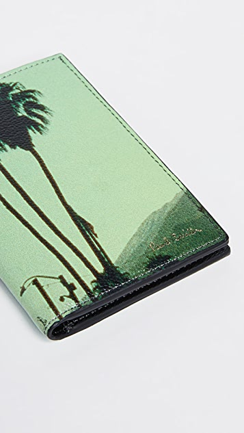 Paul Smith Photo Print Folded Card Case
