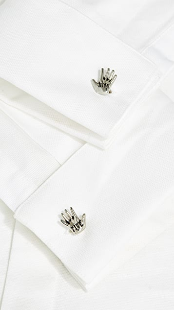 Paul Smith High-Five Hand Cufflinks