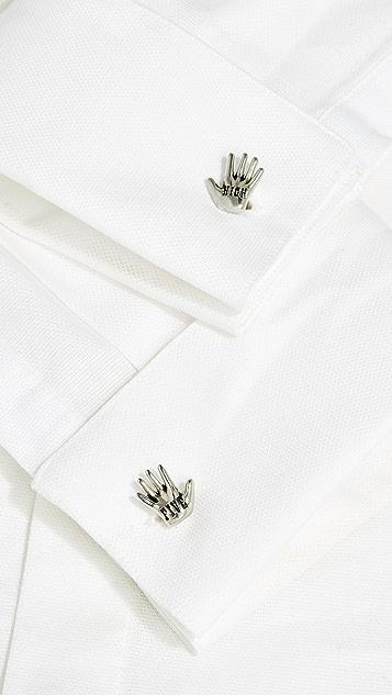 Paul Smith High-Five Hand Cufflinks
