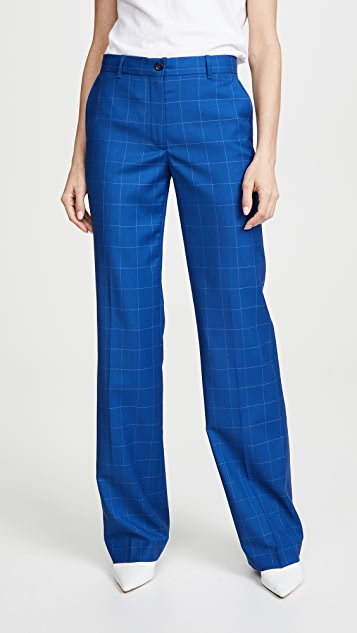 Paul Smith Windowpane Plaid Trousers