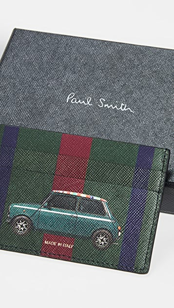Paul Smith Mini Print Credit Card Case