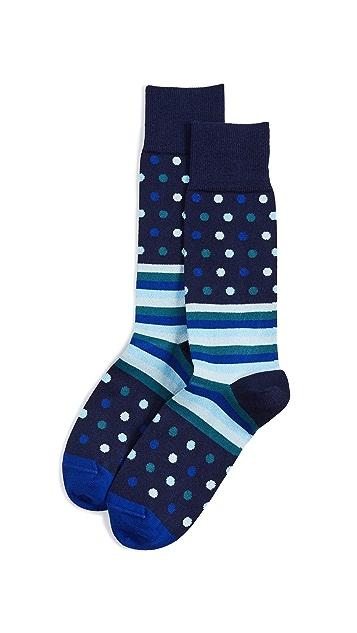 Paul Smith Polka Stripe Socks