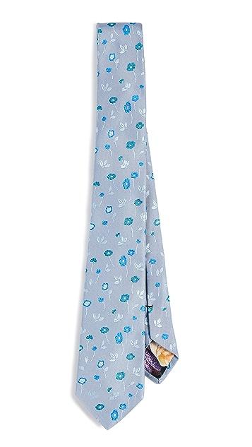 Paul Smith Floral Narrow Tie