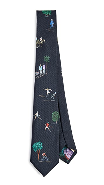 Paul Smith Horseriding Tie