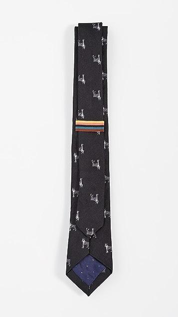 Paul Smith French Bulldog Tie