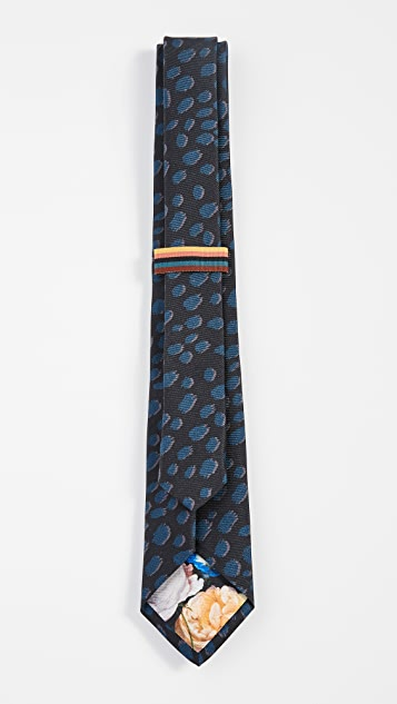 Paul Smith Cheetah Print Tie