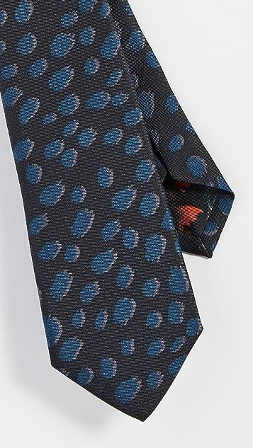 Paul Smith Cheetah Print Tie
