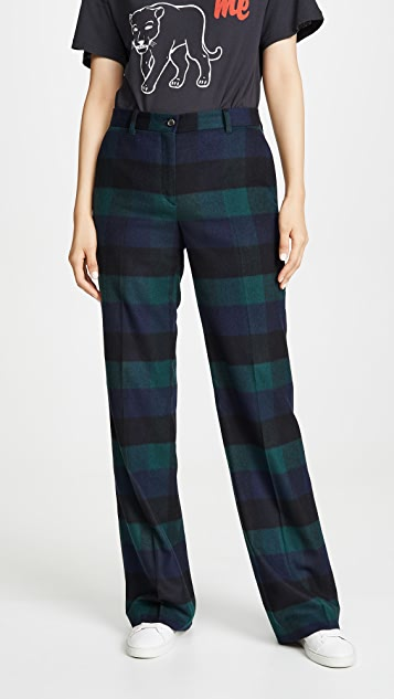 Paul Smith Plaid Trousers