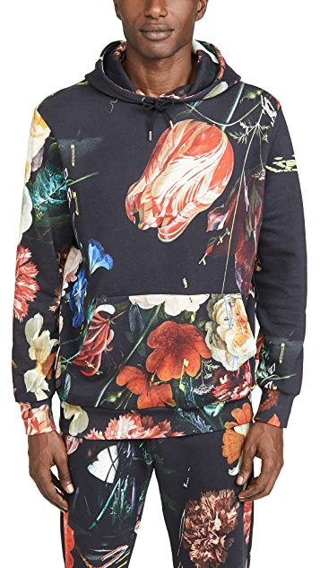 Paul Smith Gents Still Life All Over Print Hoodie