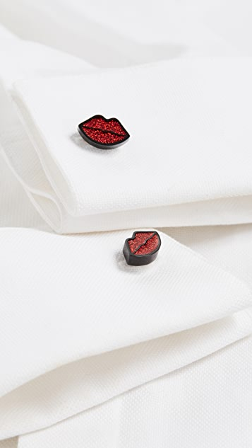 Paul Smith Lips Cufflinks