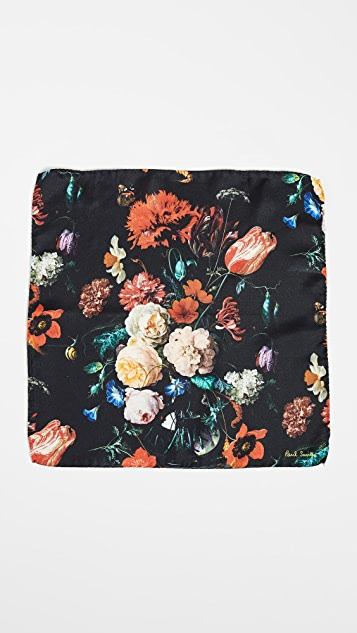 Paul Smith Floral Pocket Square