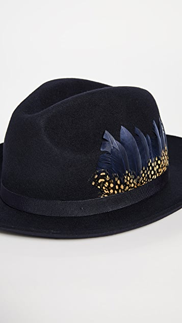 Paul Smith Feather Fedora