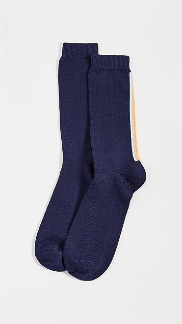 Paul Smith Artist Vertical Stripe Socks