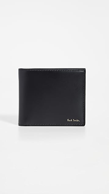 Paul Smith Billfold With Printed Interior
