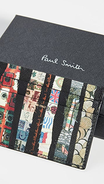 Paul Smith Printed Card Case