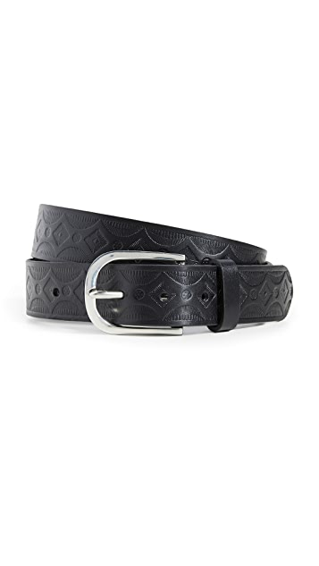 Paul Smith Vintage Embossed Belt