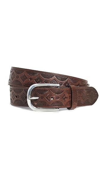 Paul Smith Vintage Embossed Belt