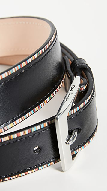 Paul Smith Edge Stripe Belt