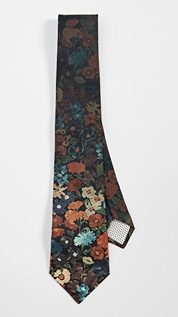 Paul Smith Floral Tie