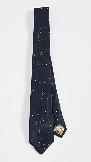 Paul Smith Dot Print Tie