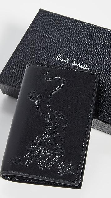Paul Smith Mark Mahoney Tattoo Folded Card Case