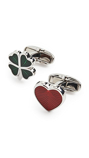 Paul Smith Love and Luck Cufflinks