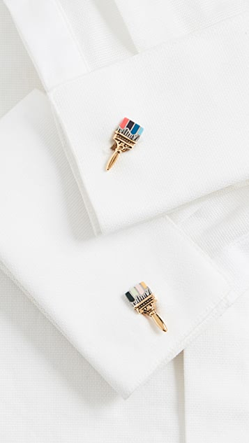 Paul Smith Artist Paint Brush Cufflinks