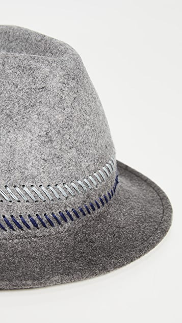 Paul Smith Drip Dye Trilby Hat