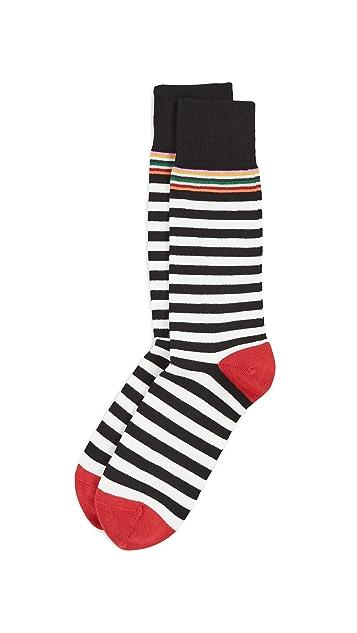 Paul Smith Two Stripe Multi Top Socks