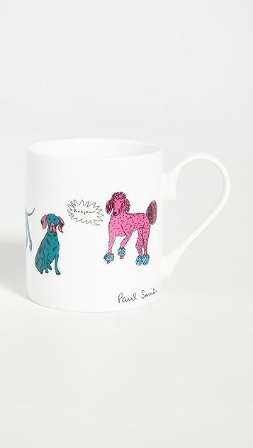 Paul Smith Dog Print Mug